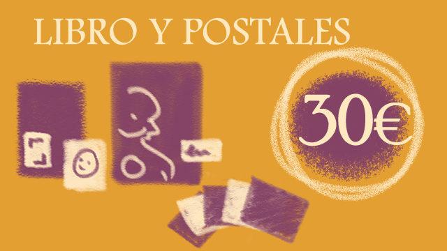 Libro y postales