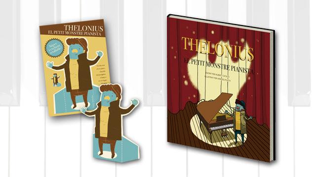 Llibre dedicat pels autors + retallable de Thelonius