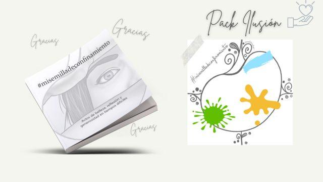 Pack ILUSIÓN: Libro #misemilladeconfinamiento + Agradecimientos + Creación y publicación de tu nueva semilla + Aportación solidaria