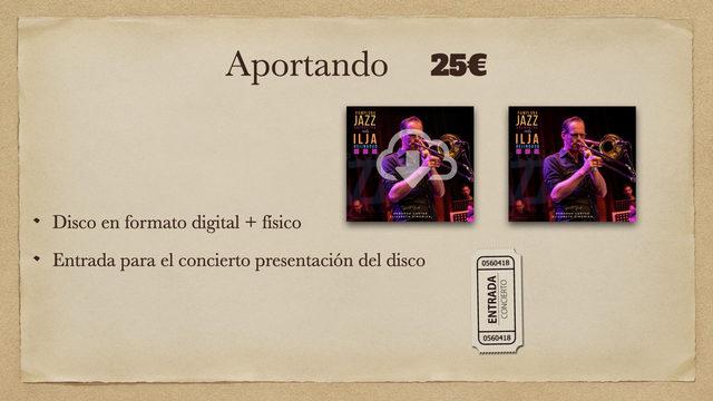 Disco Digital + Disco físico + Entrada