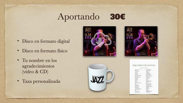 Disco Digital + Disco físico + Taza + Agradecimientos