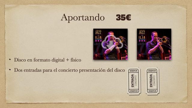 Disco Digital + Disco físico + 2 Entradas