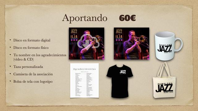 Disco Digital + Disco físico + Taza + Agradecimientos + Camiseta + Bolsa