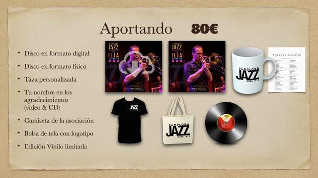 Disco Digital + Disco físico + Taza + Agradecimientos + Camiseta + Bolsa + Vinilo