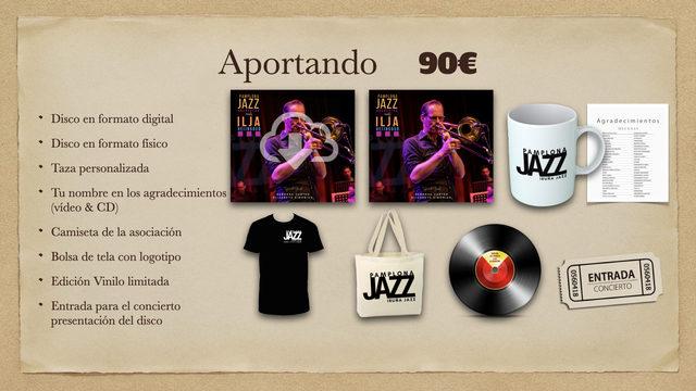 Disco Digital + Disco físico + Taza + Agradecimientos + Camiseta + Bolsa + Vinilo + Entrada
