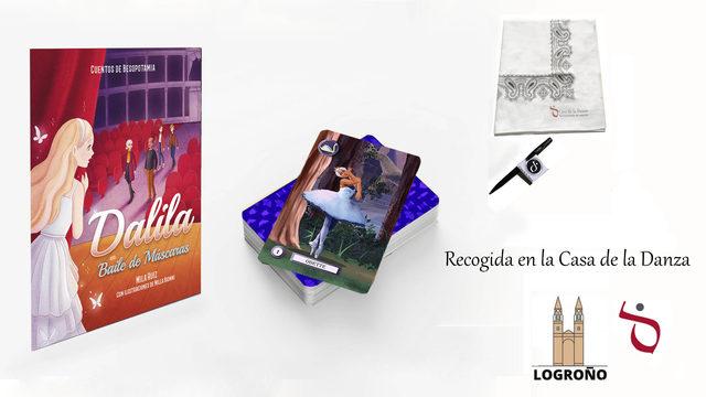 1 CUENTO + 1 JUEGO +  PAÑOLETA +BOLIGRAFO y CHAPA