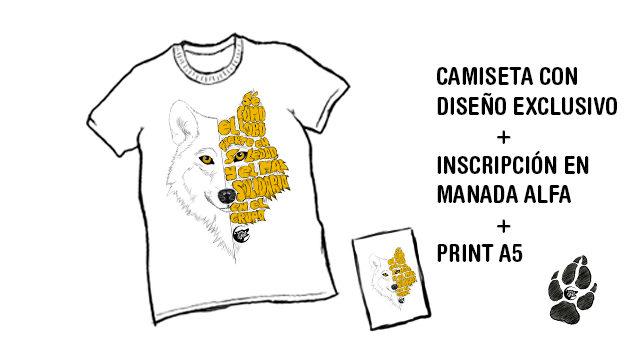Camiseta con diseño exclusivo