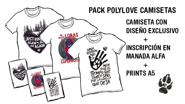 Pack Poly-love camisetas