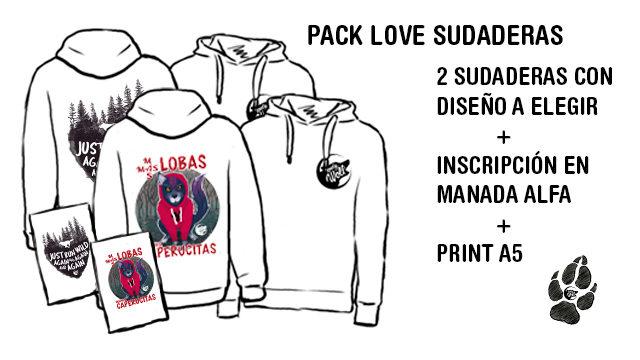 Pack Love Sudadera
