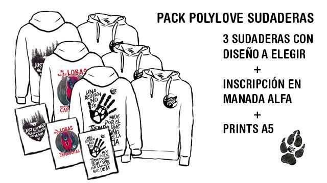 Pack Poly-love sudaderas