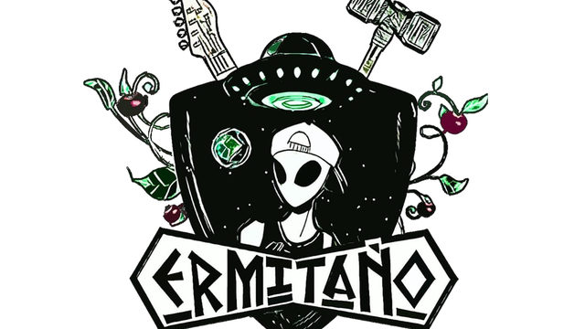 Pegatina Logo Ermitaño
