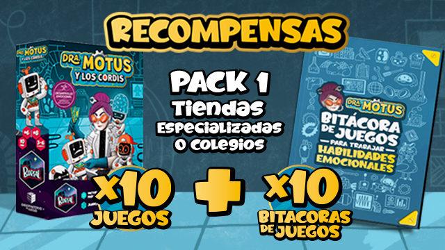 Pack 1 (tiendas especializadas o colegios)