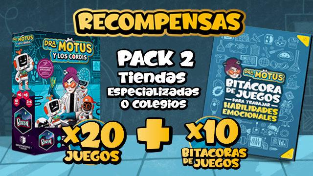 Pack 2 (tiendas especializadas o colegios)