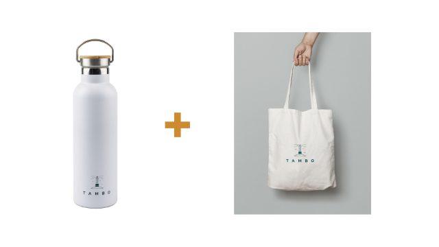 Combo-Tambo Bottle (700ml) + Tambo Tote Bag