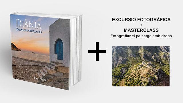 """Llibre + excursió + masterclass """"Fotografiar el paisatge amb drons"""""""