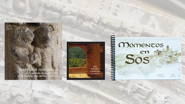 """Libro bestiario + folleto Sos + libro """"Momentos en Sos"""""""