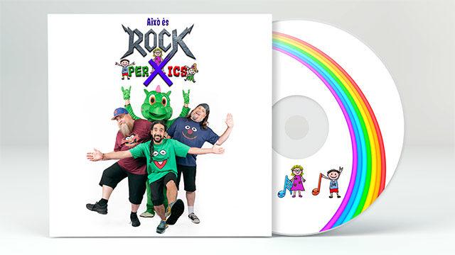 """Digipack CD""""Això és ROCK PER XICS"""""""