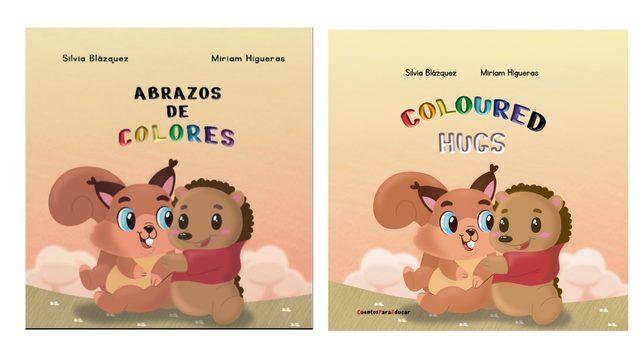 """Cuento """"Abrazos de colores"""" (Tapa blanda)"""