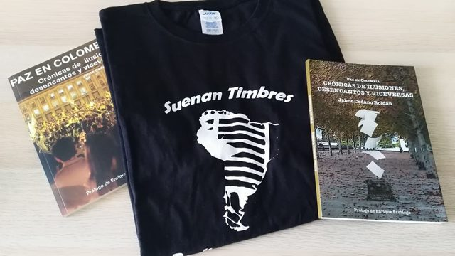 2 libros y una camiseta