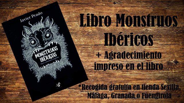 Monstruito: Libro Monstruos Ibéricos + Agradecimiento