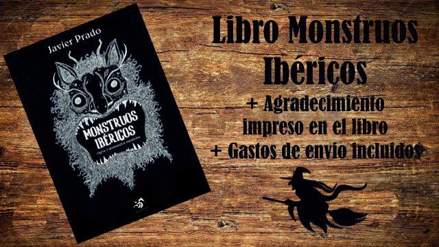 Monstruito con envío: Libro Monstruos Ibéricos + Agradecimiento + Envío Península