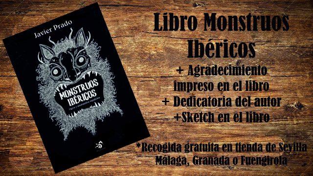 Monstruo: Libro Monstruos Ibéricos + Agradecimiento + Dedicatoria + Sketch