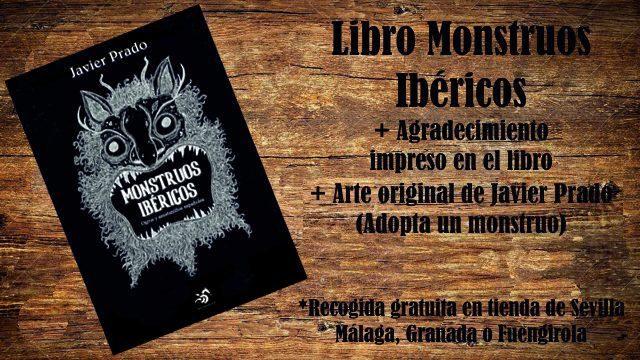 Monstruoso: Libro Monstruos Ibéricos + Agradecimiento + Arte Original Javier Prado