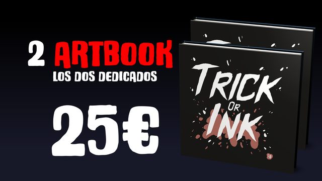 """Dúo """"Trick or Ink"""""""