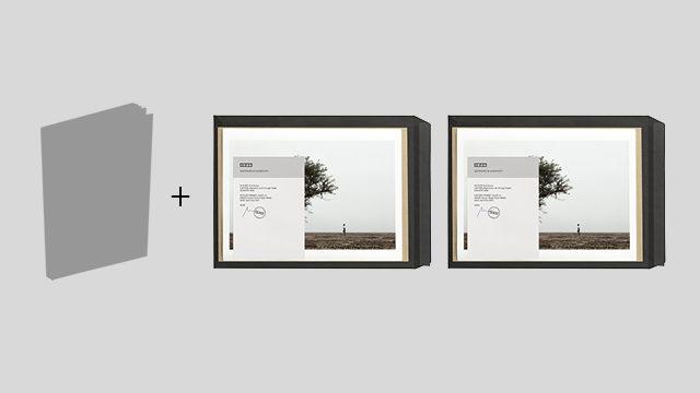 Libro de The Backway dedicado + 2 fotos grandes firmadas