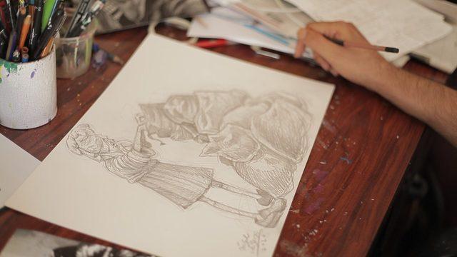 Visionado + Dibujos de Idígoras