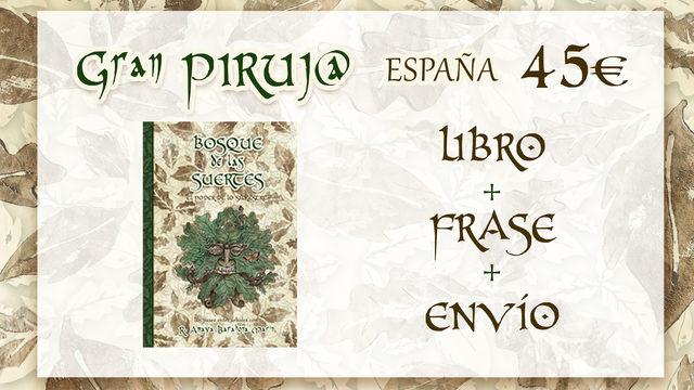GRAN PIRUJ@ con envío a ESPAÑA