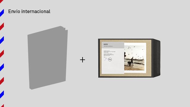 Envío internacional: libro de The Backway + foto pequeña
