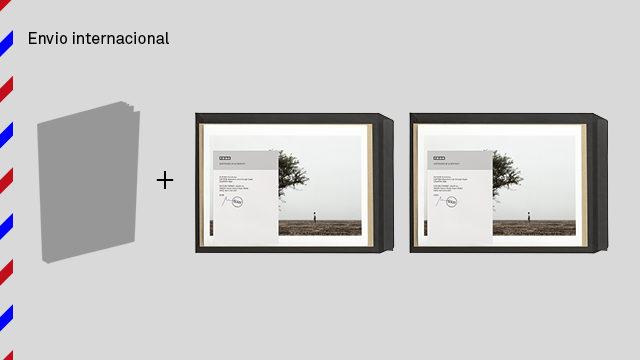 Envío internacional: libro de The Backway dedicado + 2 fotos grandes firmadas