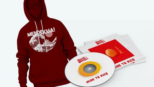Pack MENDEKUA! CD
