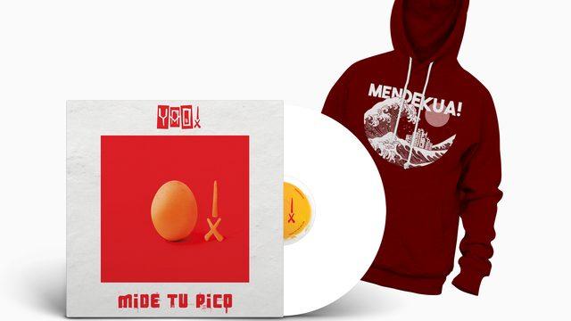 Pack MENDEKUA! LP