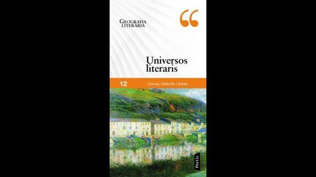 1 exemplar d'«Universos literaris», 4 llibres ja editats de la col·lecció i ruta literària