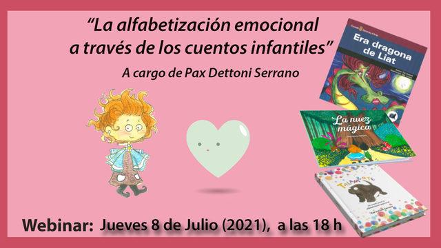 """Webminar: """"La Alfabetización emocional a través de los cuentos infantiles"""""""