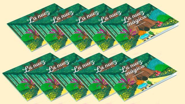 10 ejemplares del cuento La Nuez Mágica