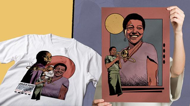 Camiseta + Lámina