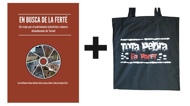 Libro + Bolsa de tela + Reconocimiento