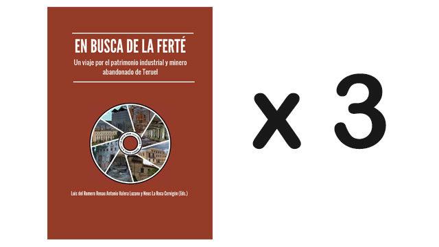 """Pack 3 libros """"En busca de La Ferté"""" + Reconocimiento en libro"""