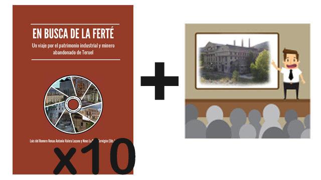 """Pack 10 libros """"En busca de La Ferté"""" + Presentación por los autores + Reconocimiento en libro"""