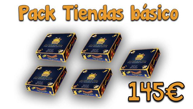 Pack Tiendas básico. 5 juegos
