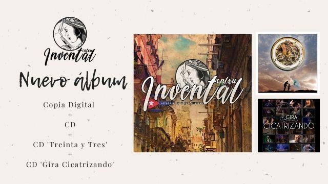 """Invental"" + CD ""Treinta y Tres"" + CD ""Gira Cicatrizando"""