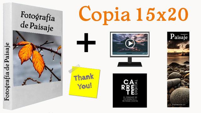 OFERTA: Libro (España) + Contenidos Extra + Copia fotografía