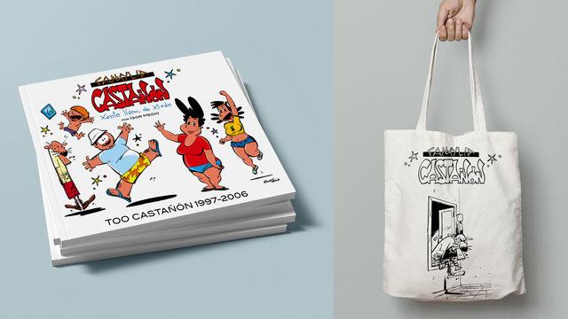 Llibru + Bolsa del Güelu Castañón