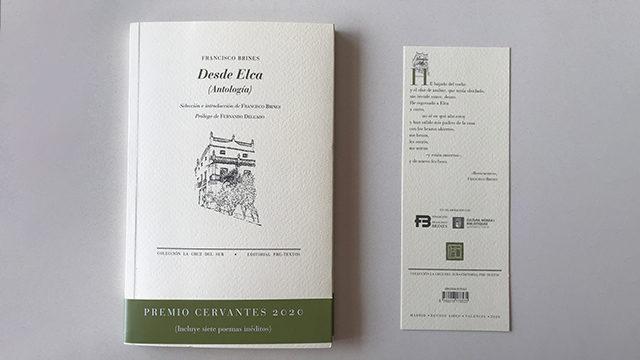 Recompensa temporal: 'Desde Elca' de Francisco Brines con un ex libris exclusivo