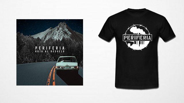 PACK CD + Camiseta Periferia