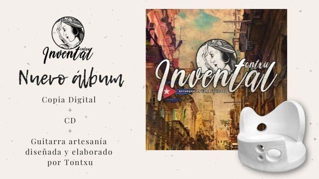 """""""Invental"""" + guitarra artesanía"""
