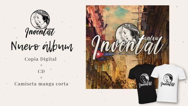 """Invental"" + camiseta manga corta"